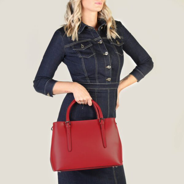 FLORA@3 - MADEINITALIA | Genuine leather bags made in Italy