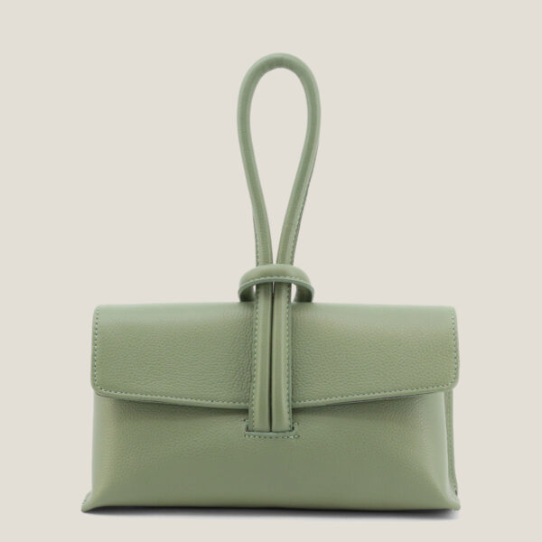 Febe mint@1 - MADEINITALIA   Genuine leather bags made in Italy