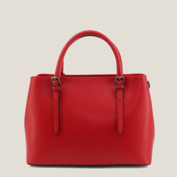 Flora red@1 - MADEINITALIA | Genuine leather bags made in Italy